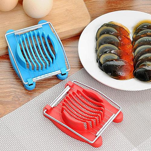 Stainless Steel Boiled Egg Slicer Section Eggs Cutter Mushroom Tomato Cutter For Cooking Tools