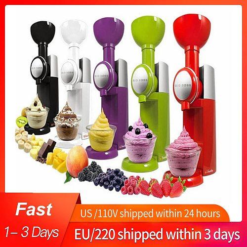110V/220V High Quality Automatic Frozen Fruit Dessert Machine Fruit Ice Cream Machine Maker Milkshake Machine EU/AU/UK/US