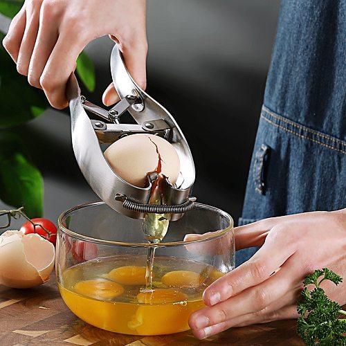 Quick Egg Opener Beater Stainless Steel Egg Tool Egg Scissors Eggshell Cutter Kitchen Baking Tool Helper