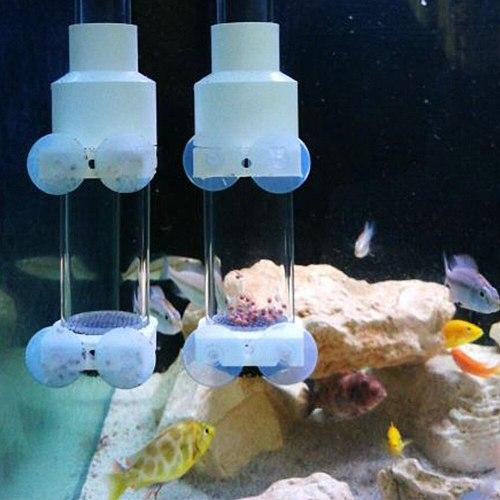 Mouth Breeder Acrylic Tank Aquarium Easy Install Fish Incubator Tool Eggs Hatche Farming Protective 40mm Tumbler Transparent