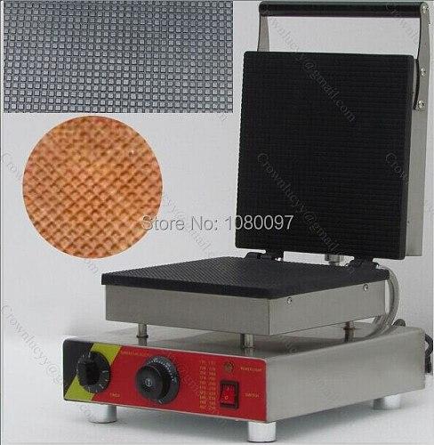 Free Shipping Commercial ice cream cone machine / cone maker waffle machine / square cone maker