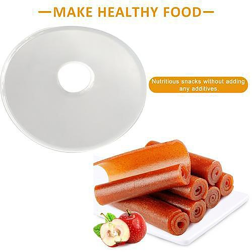 Fruit Leak-proof Tray Peel Dehydrator Food Dryer Vegetable Roll-Up Sheet Tools Eco-friendly Accessories Silicone Kitchen Round