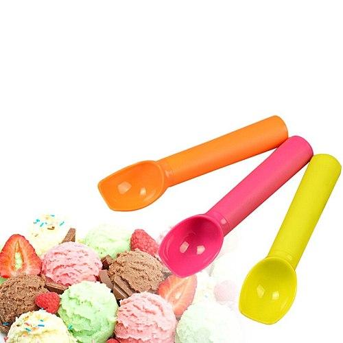 2PCS Portable Dessert Shop Pudding Spoon Party Shovel Tableware Spoon Cream Tool
