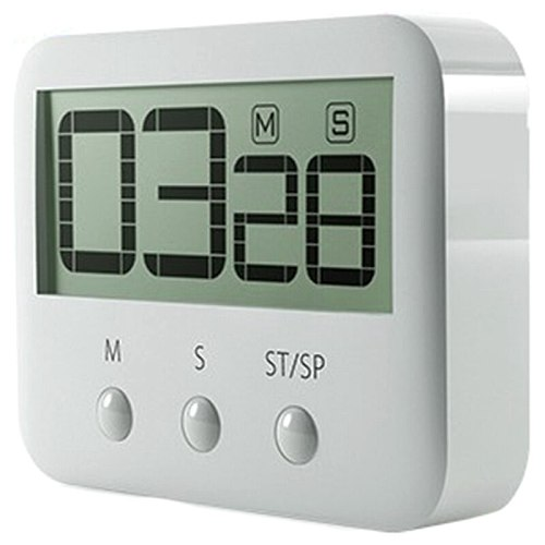 Kitchen Timer,Digital Kitchen Timer netic Countdown Stopwatch Timer with Loud Alarm, Big Digit, Back Stand, Hanging Hole for