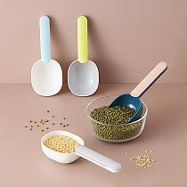 Multifunction Rice Spoon Household Kitchen Scoop Tableware with Sealing Clip