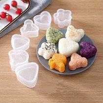 Kitchen Gadgets Onigiri Set For Sushi Rolls Sushi Molds Onigiri Rice Ball Bento Press Making Mould DIY Tools Kitchen Accessories