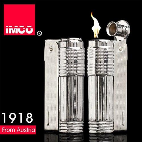 2020 Original IMCO Metal Retro Kerosene Windproof Lighter Genuine Stainless Steel Gasoline Cigarette Lighter Gadgets For Men