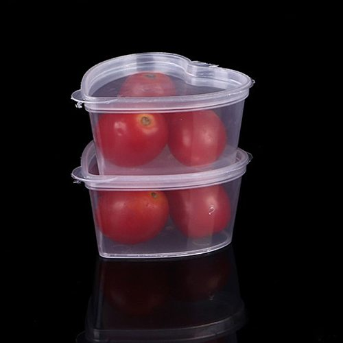 10pcs Disposable Clear Plastic Sauce Chutney Cups Food Container Storage Box One-Time Seasoning Cup Disposable Party Table