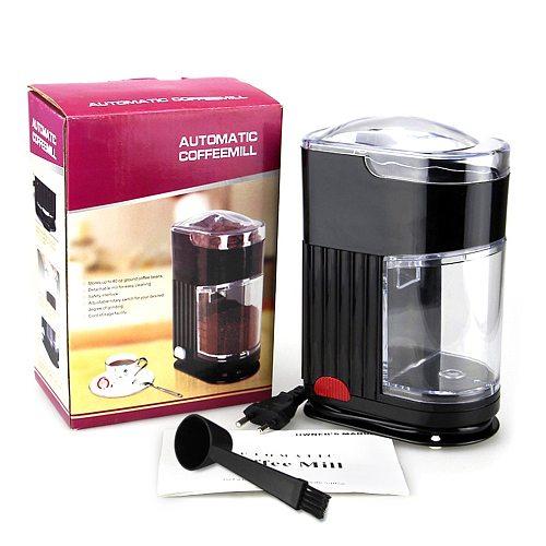 Household Coffee Grinding Machine Electric Portable Burr Mill Espresso Coffee Bean Grinder Machine Coffee Powder Maker EU Plug