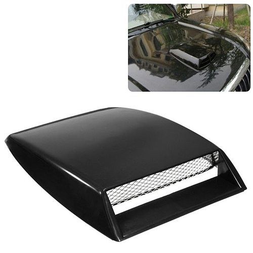 Automobiles Car Styling Universal Decorative Air Flow Intake Scoop Turbo Bonnet Vent Cover Hood