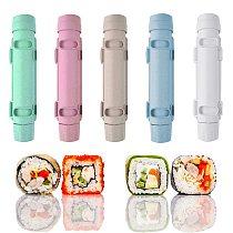 2021 New Roller Rice Mold Sushi Maker Sushi Bazooka Vegetable Meat Rolling Tool DIY Sushi Making Machine Kitchen Sushi Tool