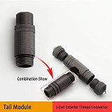 Outdoor Cane Multifunctional Camping DIY Self-defense Stick Handle Tool Accessories Shovel Portable Extra Handle Extension Tool