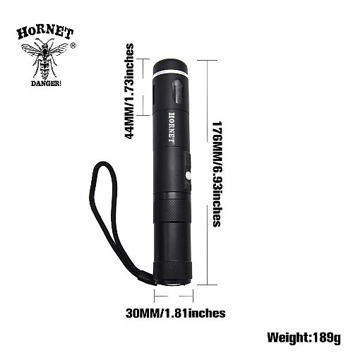 HORNET Herb Grinder Aluminum Electric Automatic Dispenser With Replacement Blades Rechargeable Li-Ion Battery USB Cord