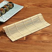 Bamboo System Sushi Mat Non-stick Sushi Rolling Roller Hand Maker Sushi Tools Onigiri Rice Rollers Bamboo Cooking Accessories