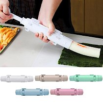 Sushi Maker Roller Rice Mold Bazooka Vegetable Meat Rolling Tool DIY Sushi Making Machine Home Kitchen Tool