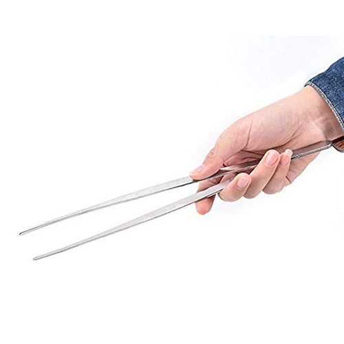 Stainless Steel Barbecue Meat Tongs Food Tongs Clip Kitchen Roasting Clamp Long Tweezers Forceps Barbecue Buffet BBQ Tools