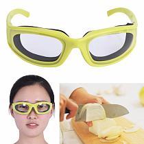 Onion Goggles Eyeglasses Onions Chopping Tear Free Protector Kitchen Tool Purple
