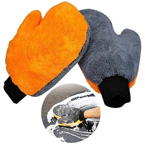 1PCS car wash gloves car cleaning supplies absorbent brush detailing tool towel