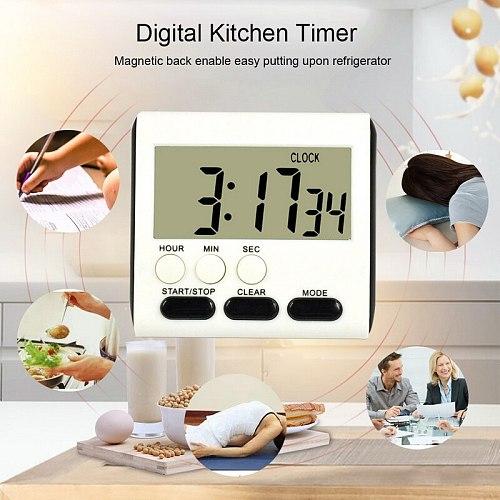 Kitchen Timer 24-hour Electronic Timer Digital Reminder Alarm Clock Home Cooking Practical Supplies Cook Food Tools