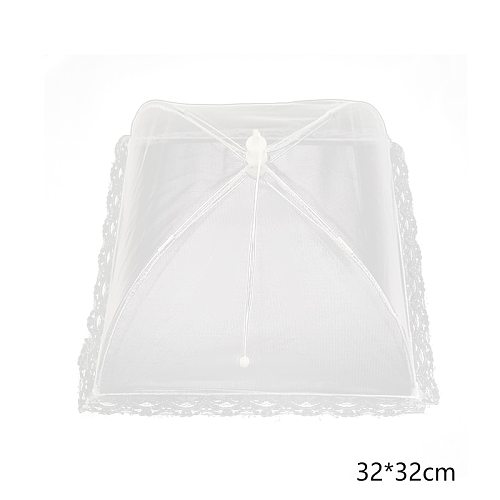 The New Large Pop-Up Mesh Screen Food Cover Tent Dome Net Umbrella Picnic Kitchen Folded Mesh Anti Fly Mosquito Umbrella
