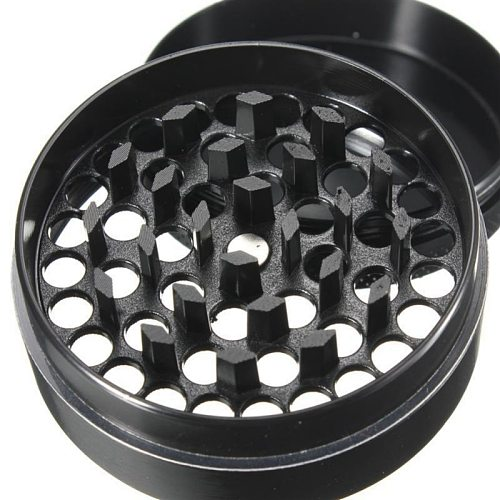 Grinder Weed 4 Layers Herb Smoking Muller Grass Spice Smoke Crusher Aluminium Crank Pollinator Hand Tobacco weed Accessories