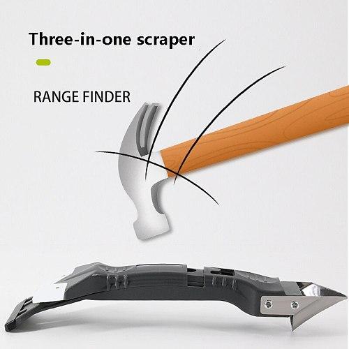 3-in-1 Silicone Caulking Tools Glass Glue Angle Scraper  Rubber Shovel Remover Angle Seam Shovel kit tool