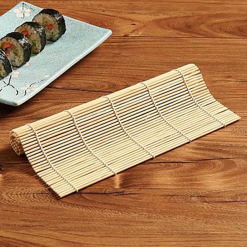 1Pcs Sushi Maker Retro Bamboo Rolling Mat Roller Bamboo Mat Maker Bamboo Japaneses Sushi Tools Household Kitchen Accessories