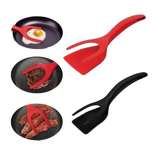Butter Mixer Cake Brushes Baking Tool Kit Grip Flip Tongs Multipurpose Cooking Turner Pancake Spatula Clamp Cooking Tool