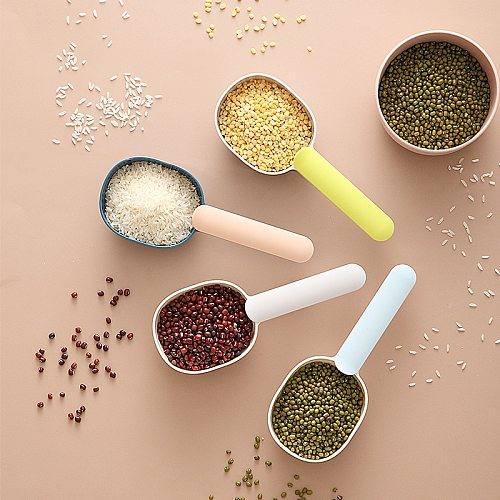 Creative household scoop rice scoop kitchen rice scoop flour scoop coarse grain scoop large capacity sealed scoop