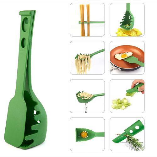 New 8 in 1 Versatile Kitchen Gadget Set, Newest Kitchen Gadgets, Kitchen Spatula Spaghetti Spoon Spatula Colander Versat