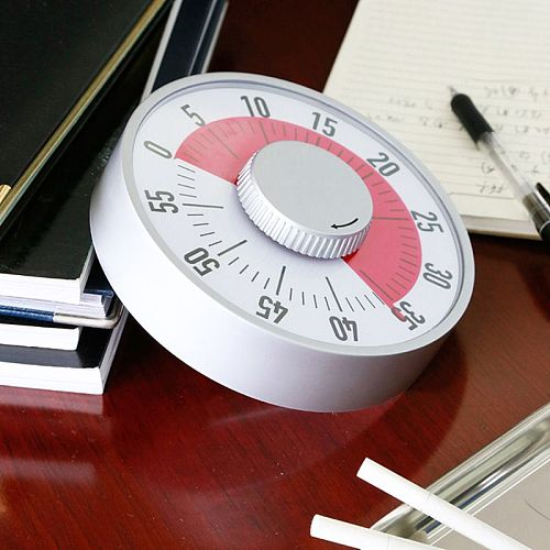 Classroom Countdown visual Timer,Quiet Counting, Dual Magnet, Ideal For Classroom Teaching Homework Houseworks Meeting