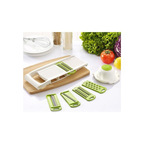 Vegetable Cutter Manual Food Processors Manual Slicer Fruit Cutter Potato Peeler Carrot Onion Grater Kitchen Accessories Baske