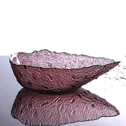 Water Drop Design Crystal Glass Candy Bowl Decorative Scoop Ice Cream Serving Bowl Dinnerware Dessert Kitchen Glassware Vessel