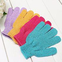 Moisturizing Spa Bathwater Scrubbing Bath Exfoliating Gloves For showering