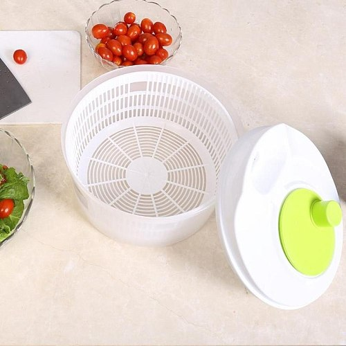 Vegetables Dryer lettuce Salad Spinner Basket Fruit Wash Machine Storage Drying Vegetables Kitchen Tools