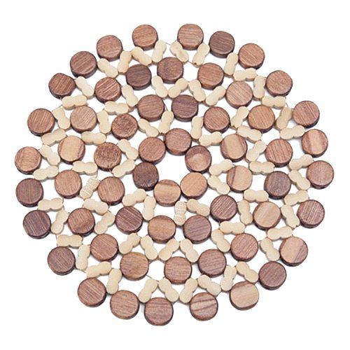 Decorative Wooden Trivets for Hot Pots and Pans  for Kitchen Wooden