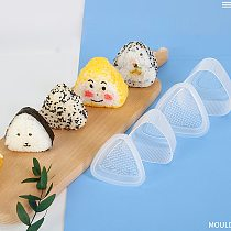 Japan Nigiri Sushi Mold Set With Spoon Rice Ball Molds DIY Rice Mold Kitchen Sushi Making Tools Bento Accessories Free Shipping