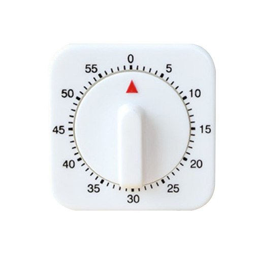 Kitchen Cooking Timer Countdown 60 Minutes Alarm Mechanical Time