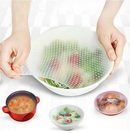 bowl cover Silicone Stretch Lids Universal Lid Reusable Bowl Pot Lid Silicone cover Cooking Food Fresh Cover Microwave Cover