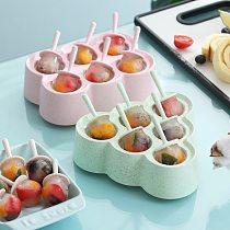 Creative Wheat Ice Mold Ball Type Children's Ice Cream Mold DIY Cartoon Ice Lattice Home Popsicle Sticks