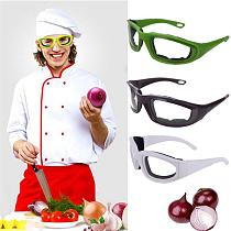 1Pc Kitchen Accessories Onion Goggles Barbecue Safety Glasses Eyes Protector Face Shields Cooking Tools Specialty Tools