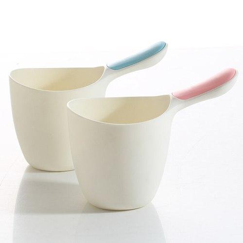 2pcs Baby Bath Water Scoop Plastic Cup Bailer for Kids Shower