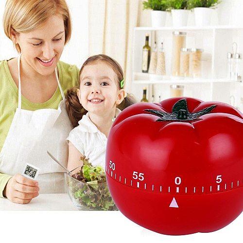 Tomato Timer Creative Kitchen Mechanical Timer Countdown Timer Reminder Alarm 1-60min 360 Degree Minuterie Timer Hot Sale #Y1