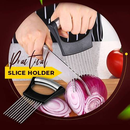 Food Slice Assistant Potato Slicers Cutter Shredders Kitchen Accessories Onion Lemon Cutting Holder Kitchen Gadgets Cooking Tool