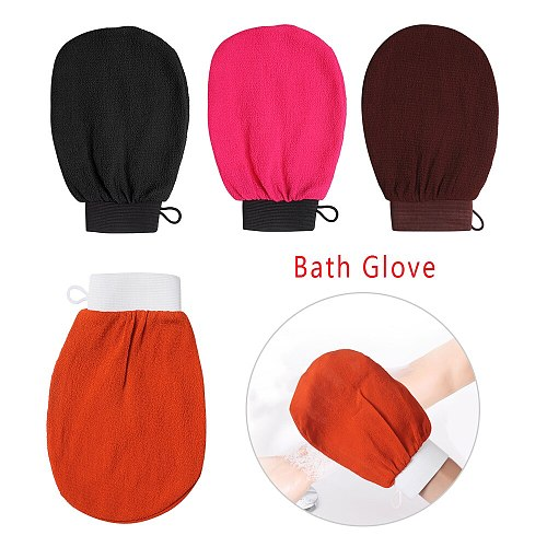 Hammam Shower Bath Scrub Glove Exfoliating Body Scrub Facial Tan Massage Mitt Removal Kessa Exfoliate Peeling Glove Towel