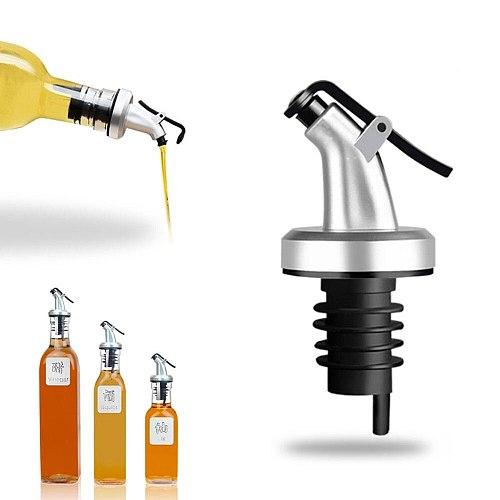 Vinegar Sprayer Kitchen Dispenser Topper Olive Bottle Silicone Plug - in Oil Spout Stopper Sealing Tap Tool Oilcan Accessories