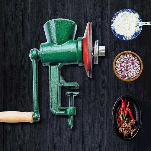 Manual Grain Grinder Corn Mung Bean Mill Grinding Tool Home Kitchen Gadgets Cooking Tool  Household Accessories