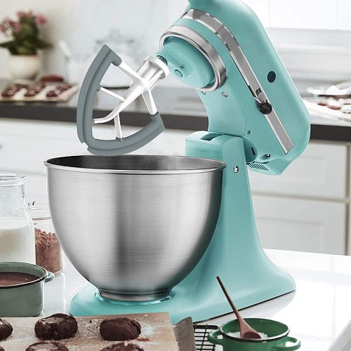 Tilt Head 4.5/5 Quart Flex Edge Beater for Pouring Shield Stand Mixer Replacement for Kitchen,Total Specialty Tools