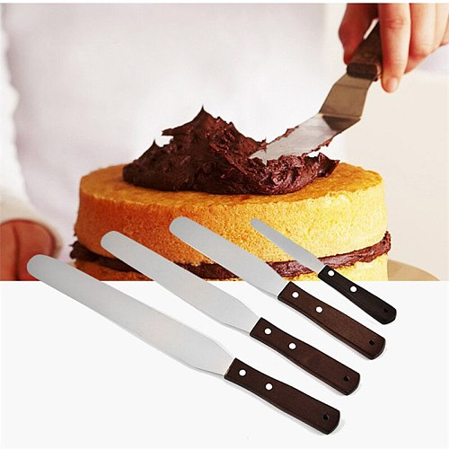 Kitchen Accessories Cake Decorating Tools Stainless Steel Baking&Pastry Tools Portable Cream Spatula Cake Butter Kitchen Gadgets