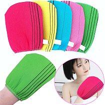 Moroccan Hammam Bath Scrub Glove Exfoliating Body Facial Tan Massage Glove Exfoliator Glove Random Color Bath Shower Wash Hot